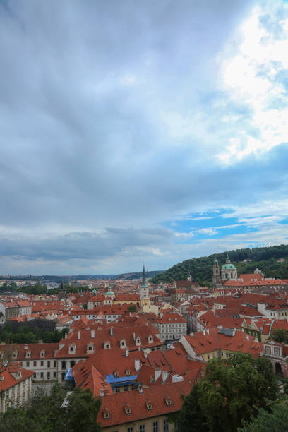 Cityscape - Prague stock photo