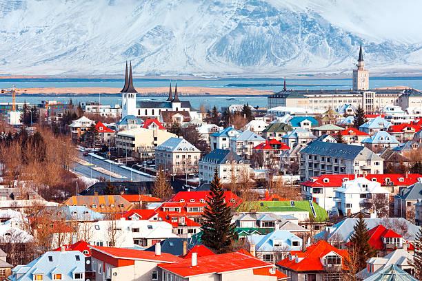 Reykjavík paysage, Islande - Photo