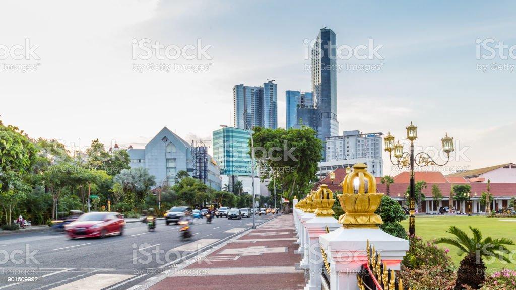 Cityscape Surabya, Inodnesia foto