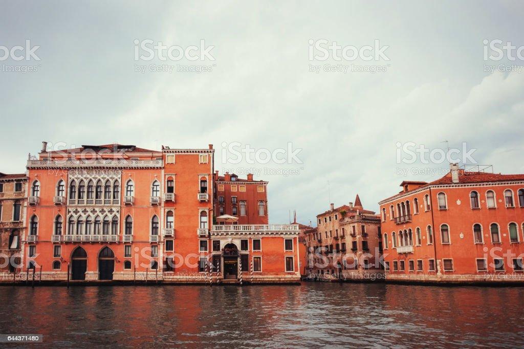 Cityscape Venice is a very famous tourist stock photo
