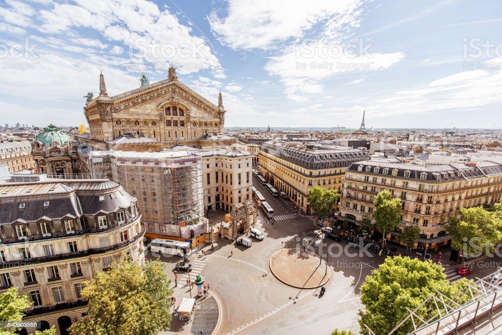 Stadtansicht Blick auf Paris – Foto