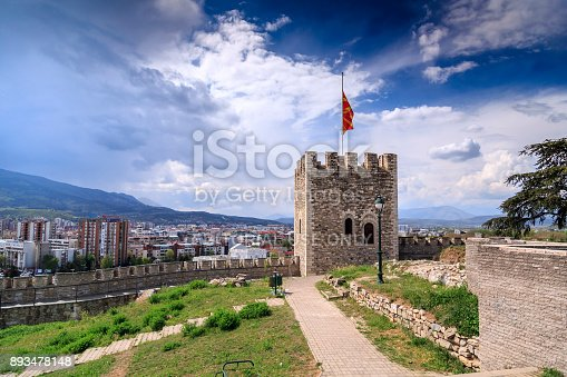 686175420 istock photo Cityscape view of Skopje from Kale fortress 893478148