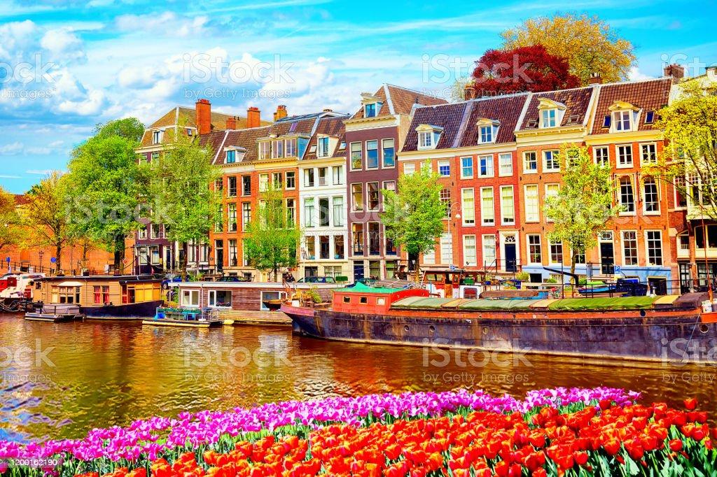 Travel Photography Home Decor Amsterdam Fine Art Photography Canal Color Photography Color Photography Europe Cityscape Art Urban