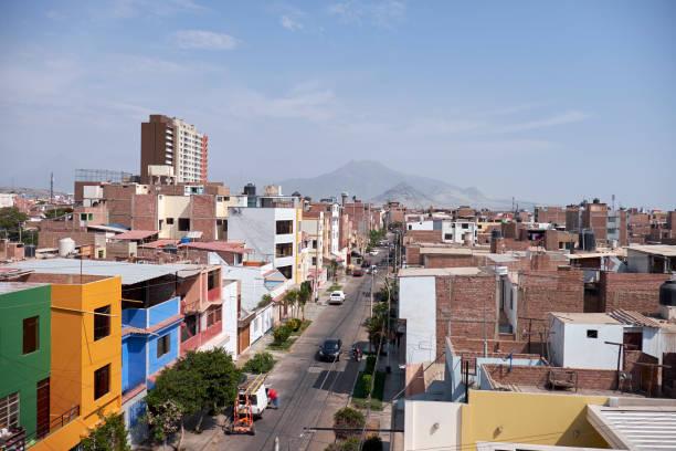 Cityscape View Of Trujillo, Peru stock photo