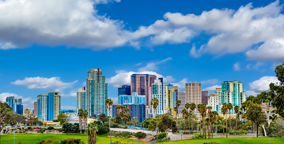 San Diego is a city on the Pacific coast of California known for its beaches, parks and warm climate. Immense Balboa Park is the site of the renowned San Diego Zoo, as well as numerous art galleries, artist studios, museums and gardens. A deep harbor is home to a large active naval fleet, with the USS Midway, an aircraft-carrier-turned-museum, open to the public