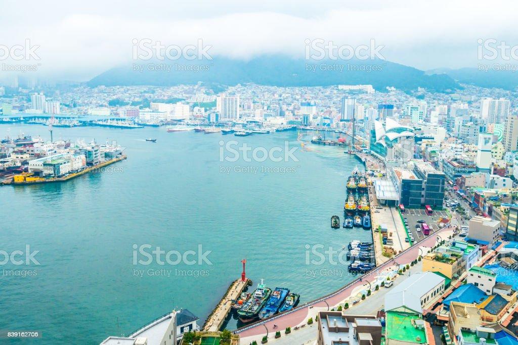 韓国釜山広域市の都市景観 - ア...