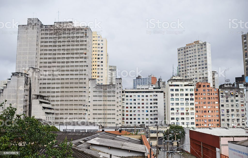 Cityscapes of Sao Paulo royalty-free stock photo