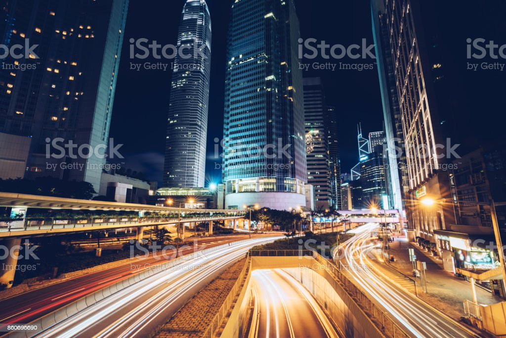 Cityscapes - Royalty-free Anoitecer Foto de stock
