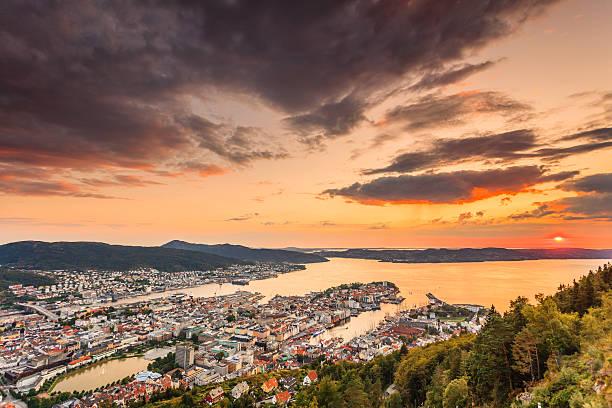 Cityspace de Bergen, VUE PANORAMIQUE - Photo
