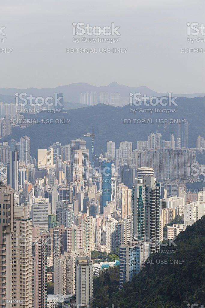 cityview of HongKong stock photo