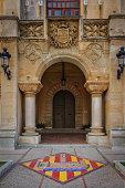 istock Ciutadella de Menorca. Entrance with coat of arm to City Hall 1268230988
