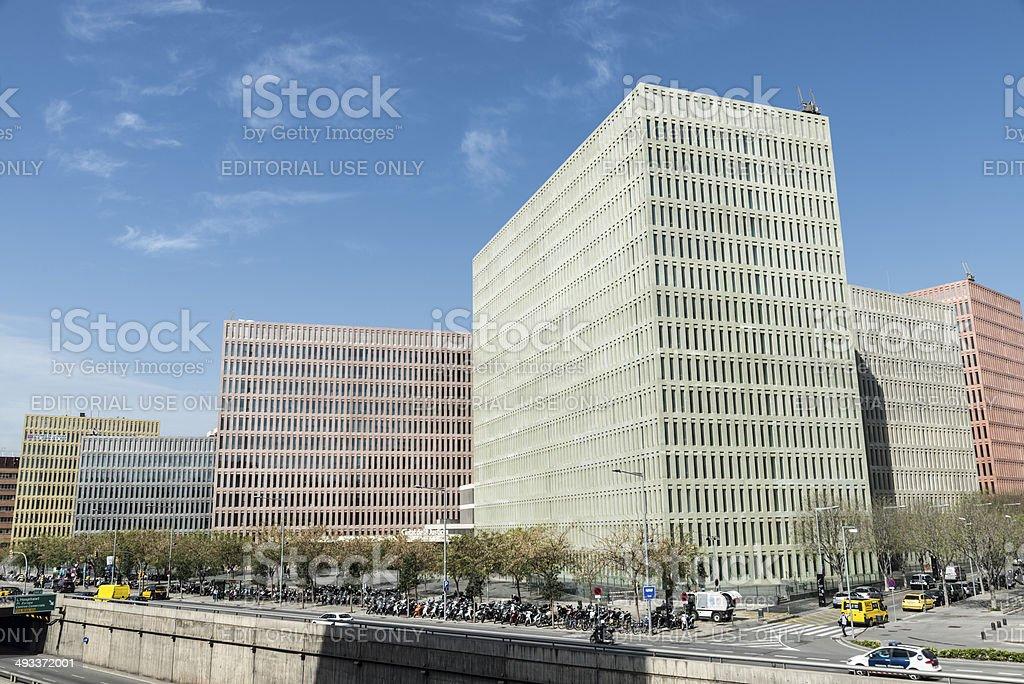 Ciutat De La Justicia Barcelona Stock Photo Download Image Now