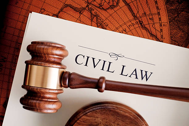 Civil Law stock photo