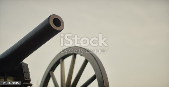 A US Civil War Cannon from Gettysburg National Military Park, Pennsylvania