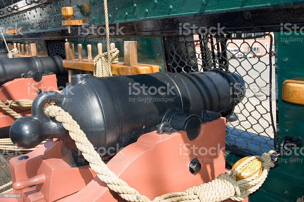 civil war canon 2 royalty-free stock photo