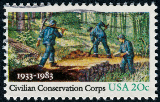 Civilian Conservation Corps Stock Photo - Download Image Now