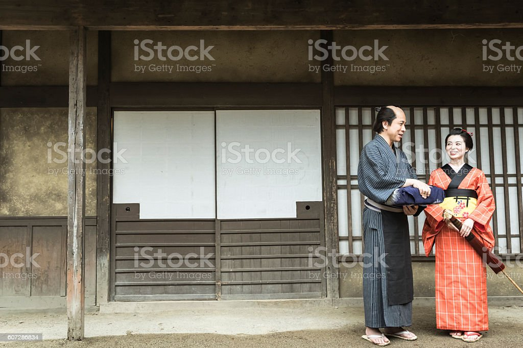 Edo period of Japan is the era in which there was a lively civilians...