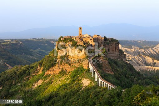 Old Village Civita di Bagnoregio landmark, Lazio, Italy