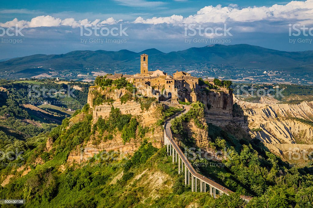 Civita di Bagnoregio, Lazio, Italien – Foto