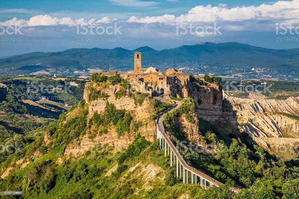Civita di Bagnoregio, Lazio, Italy stock photo