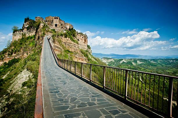 Civita di Bagnoregio, Viterbo stock photo