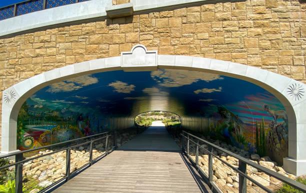 Civita Park San Diego stock photo