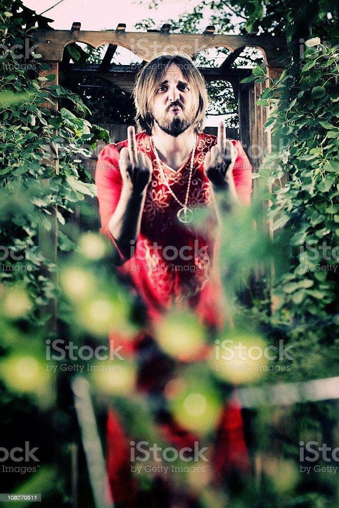 H*ck Gardening royalty-free stock photo