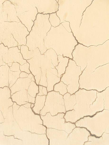 De pared de cemento clacked amarillo - foto de stock