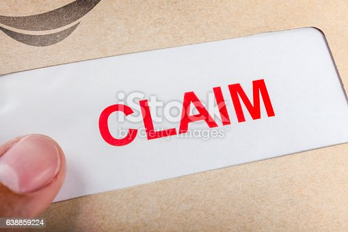 1128824554 istock photo Claim form in brown envelope, can use insurance concept 638859224