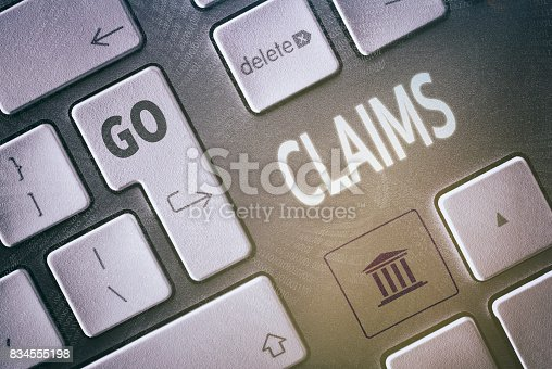 istock Claims Concept 834555198