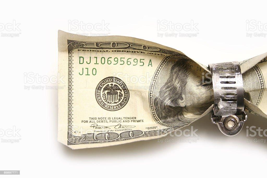 Зажим для денег Стоковые фото Стоковая фотография