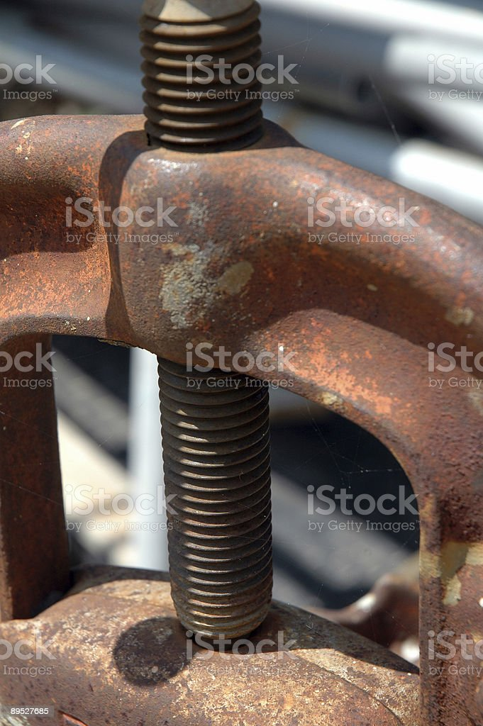 Clamp royalty-free stock photo