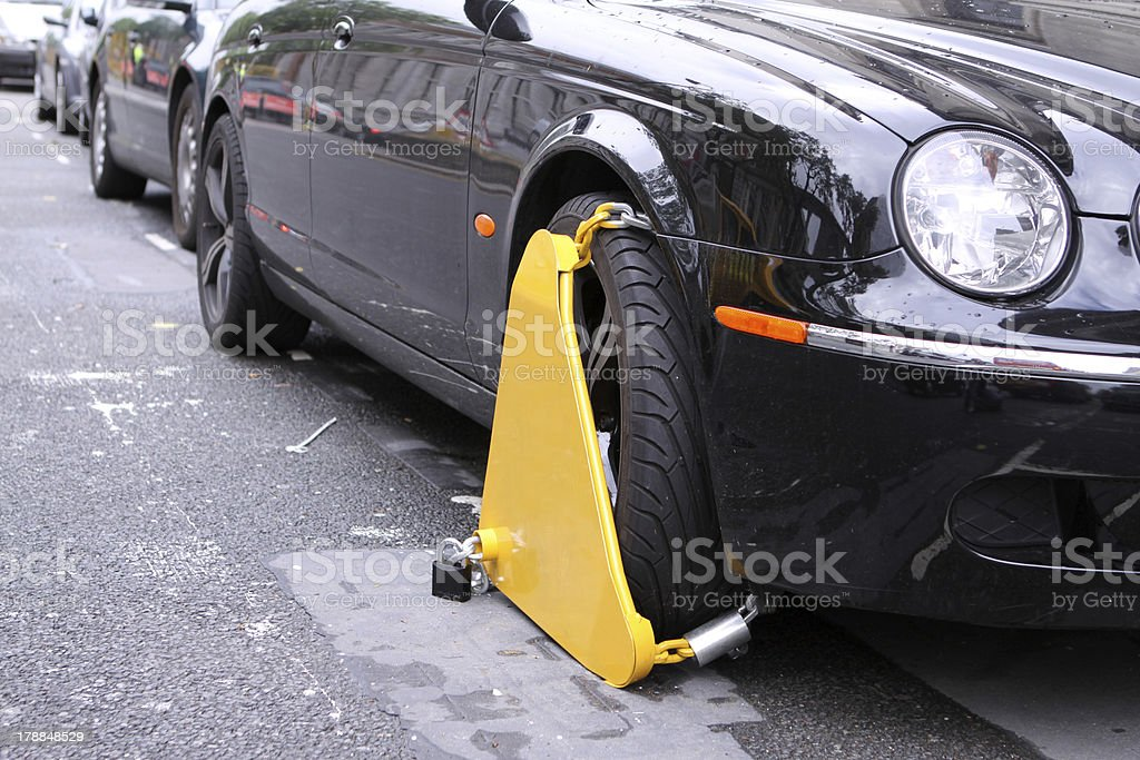 Clamped stock photo