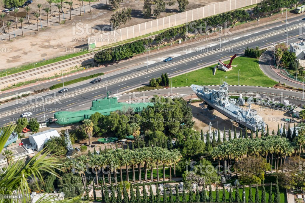 Clandestine Immigration and Naval Museum in Haifa, Israel stock photo