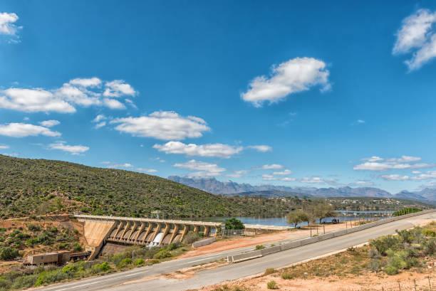 Clanwilliam Dam near Clanwilliam in the Western Cape Province stock photo