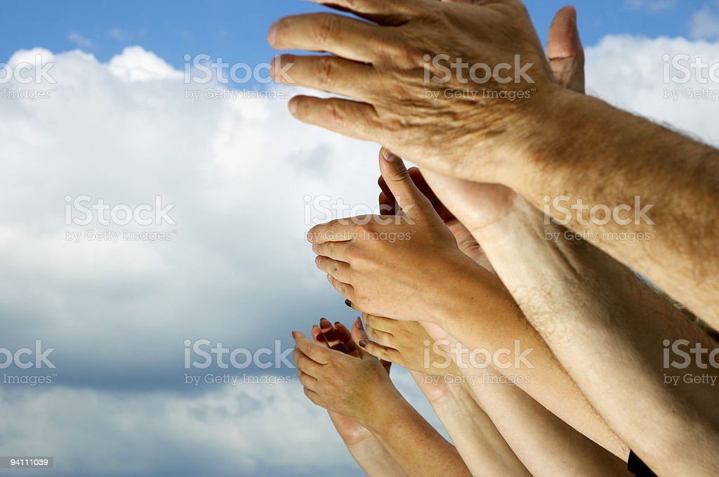 Clap your hands! royalty-free stock photo