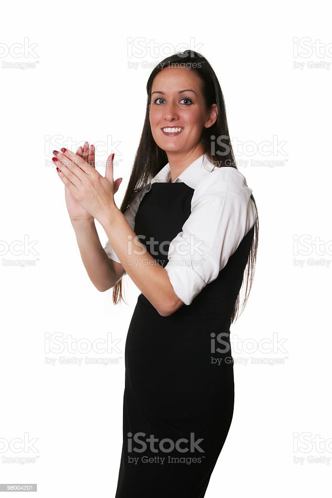 Clap your hands royalty-free stock photo