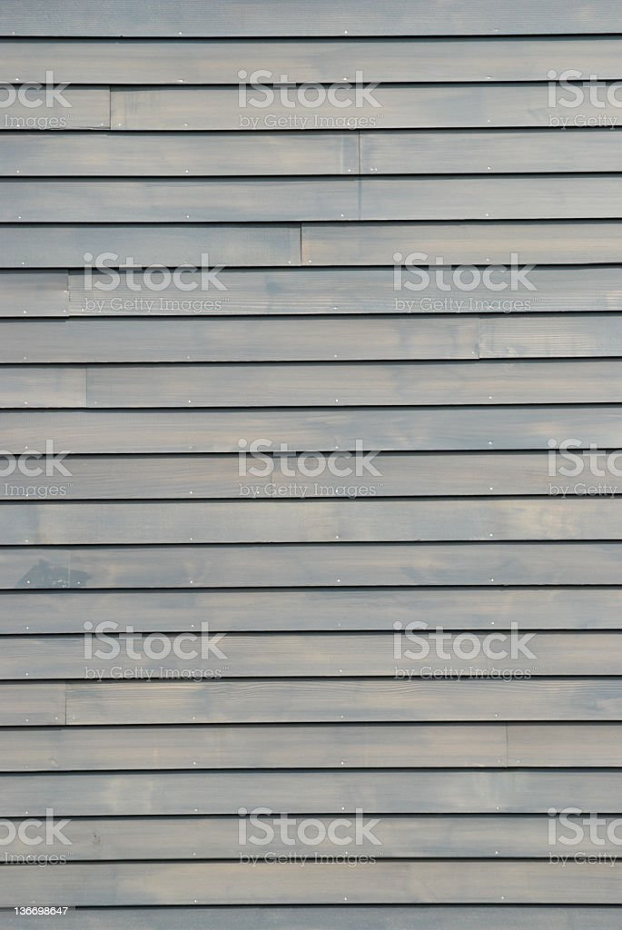 Bardeau de bois House Siding en gris - Photo