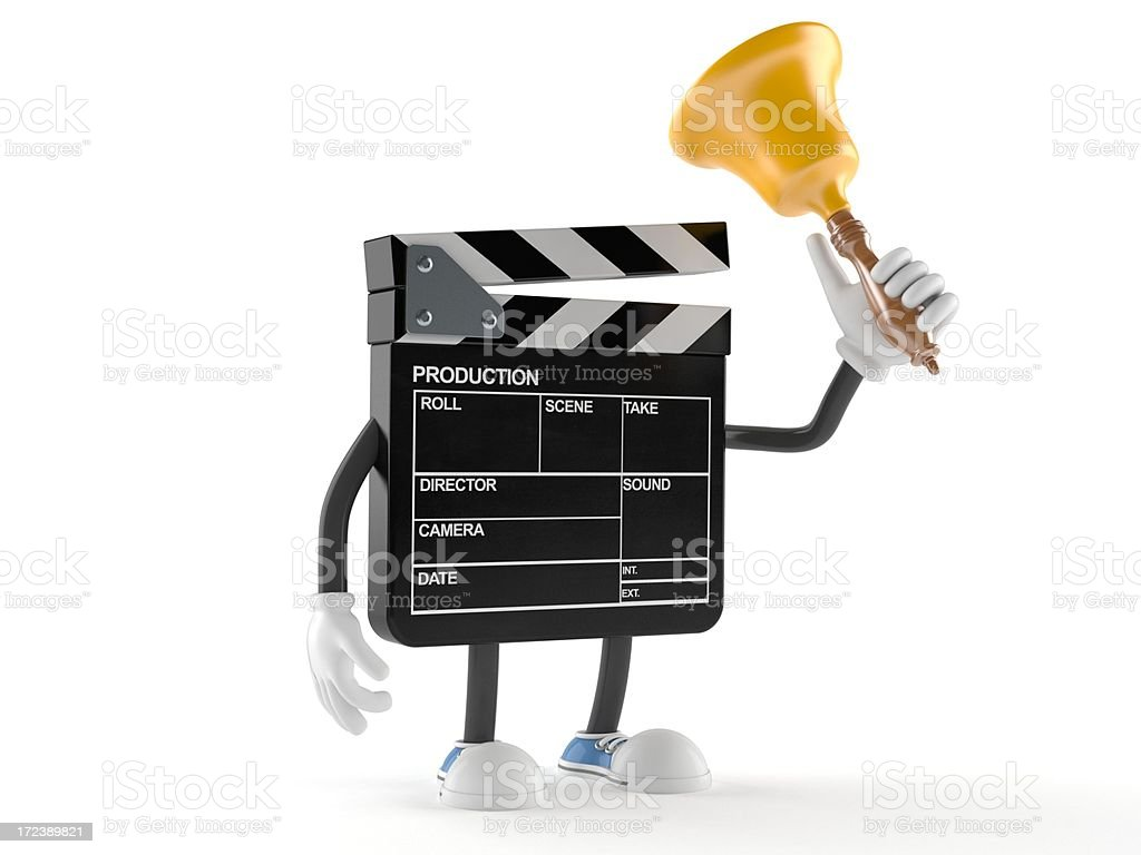 Clapboard royalty-free stock photo