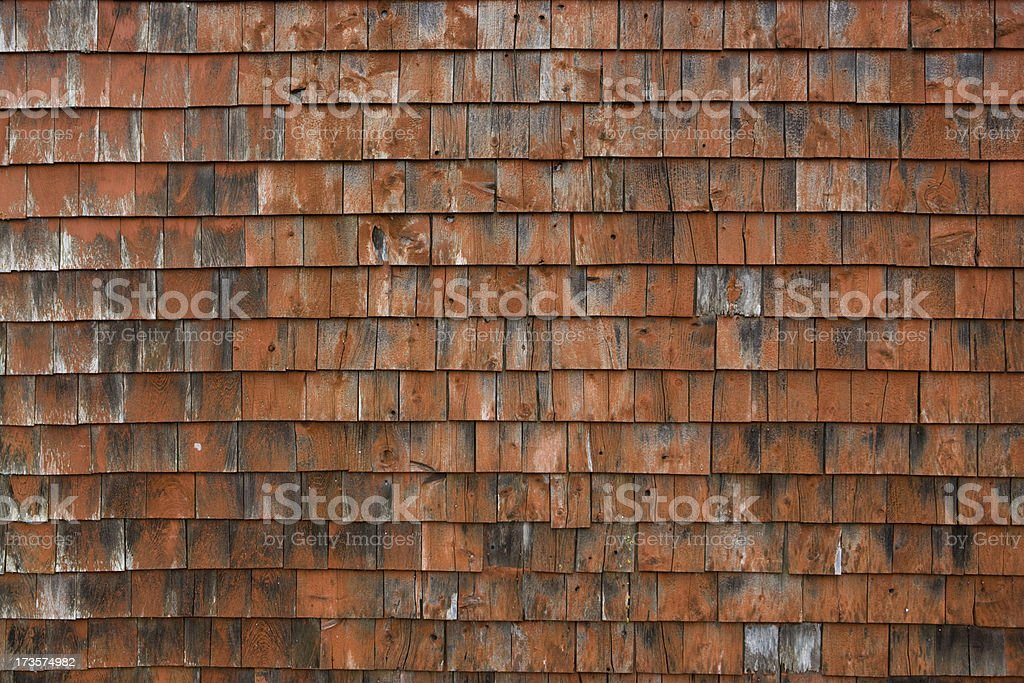 Clapboard shingle background royalty-free stock photo
