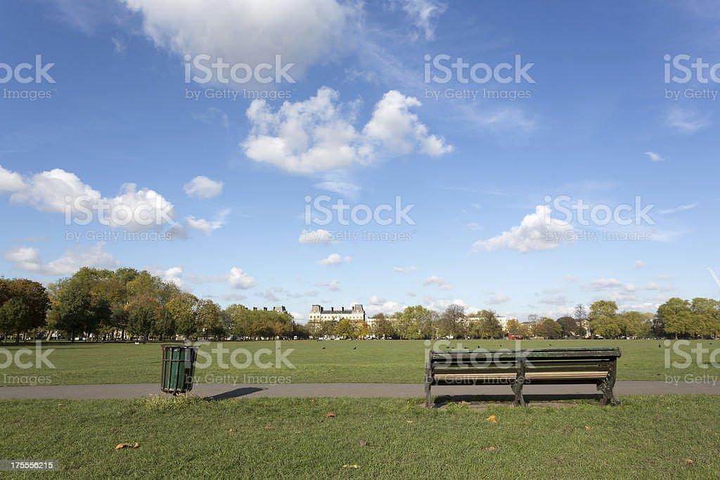 Clapham Common stock photo