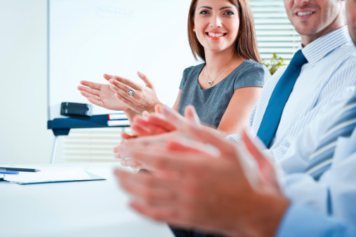Clapping Hands Stock Photo - Download Image Now