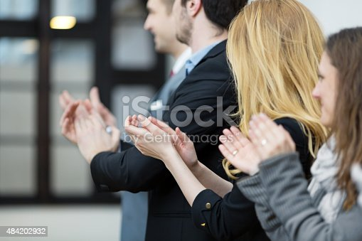 590048454 istock photo Clapping hands 484202932