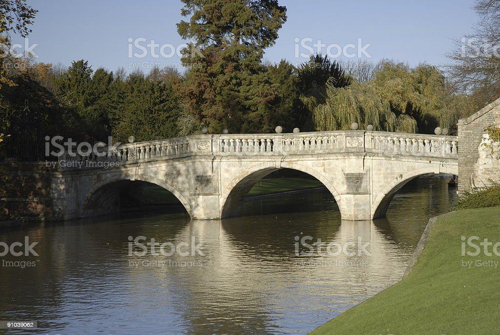 Clare Bridge royalty-free stock photo