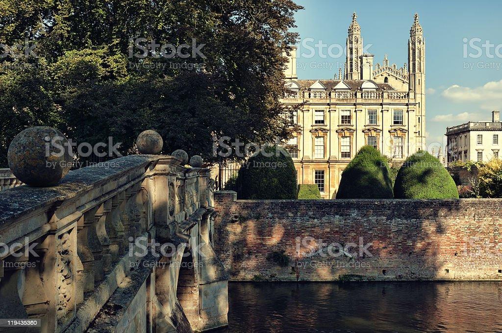 Clare College, Cambridge, UK stock photo