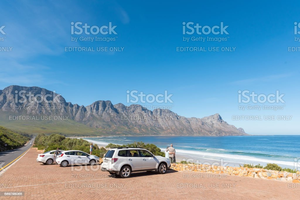 Clarence Drive between Gordons Bay and Rooi-Els stock photo