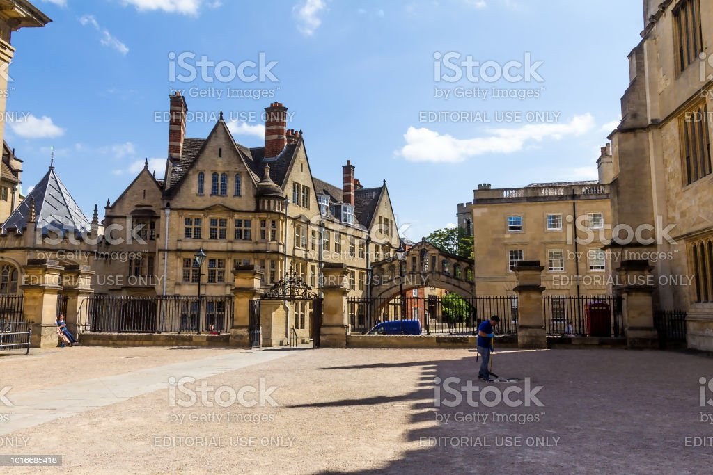Clarendon Building in Oxford in a beautiful summer day, Oxfordshire, England, United Kingdom