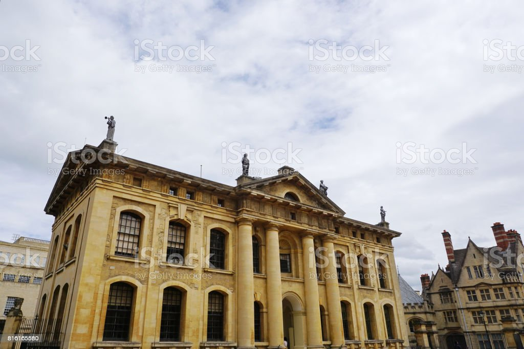 Clarendon Building, Oxford University, England