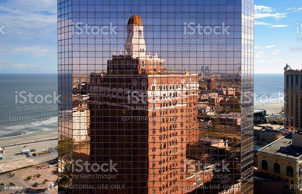 Claridge Reflection stock photo
