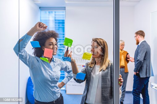 istock Clarifying the concept for their campaign 1088182046